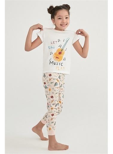 Penti Kız Çocuk Çok RenkliEnt Meadow Ls 2'li Pijama Takım PNN7ZRU121IY Renkli